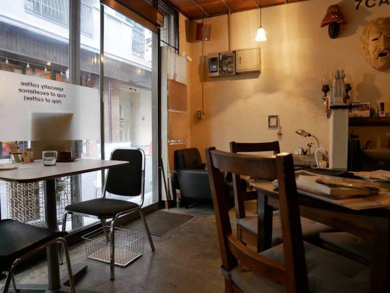 7cafe-interior