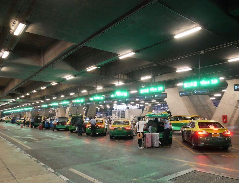 バンコクのタクシープール